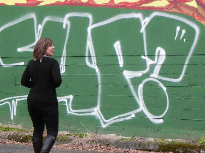 grafittiwall